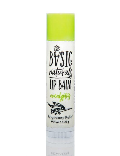 best natural lip balm eucalyptus - Basic-Naturals
