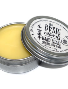 Hand balm for cracked cuticles - Basic-Naturals