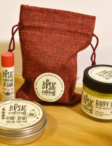mothers day 2017 special set of hands feet and lips care - natural skincare products - Basic-Naturals